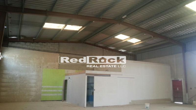 Rare to Find 4300 Sqft Warehouse with Office in Al Quoz