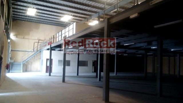 Clean 18,269 Sqft Warehouse with 40 KW Power in Al Qouz for Aed 499,000/Yr