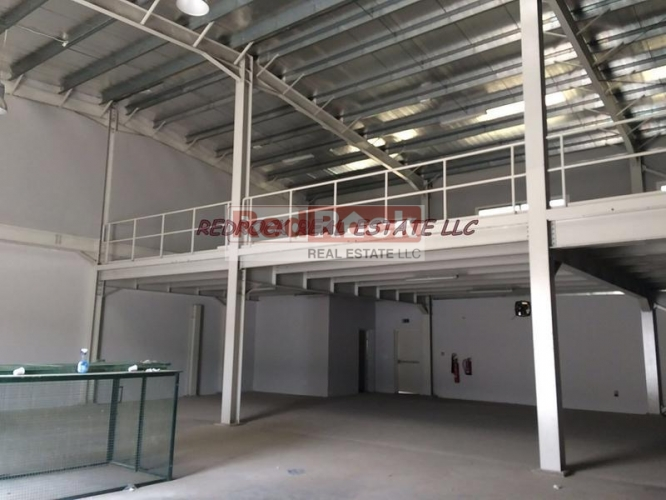 Ideal for Coffee Roast 4968 Sqft Warehouse with Mezzanine in Al Quoz