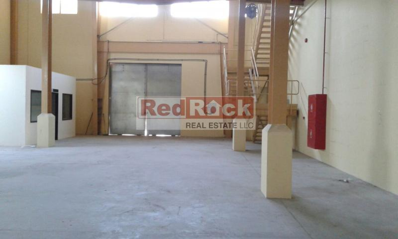 Tax Free 5750 Sqft Warehouse with Office in Nad Al Hammar for Aed 258,750 /Yr