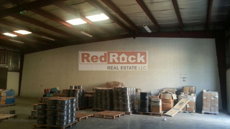 Insulated 2850 Sqft Warehouse with Office in Al Quoz Aed 120,000/Yr