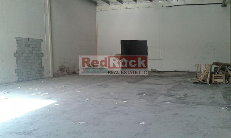 DIP Good Location 2720 Sqft Warehouse for Aed 136,000/Yr