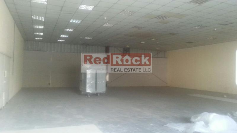 Clean 3583 Sqft Warehouse with Lightings in Al Quoz