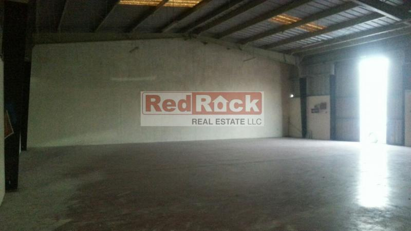 Al Quoz 3000 Sqft Warehouse Facing Al Asayel Road for Aed 135,000/Yr