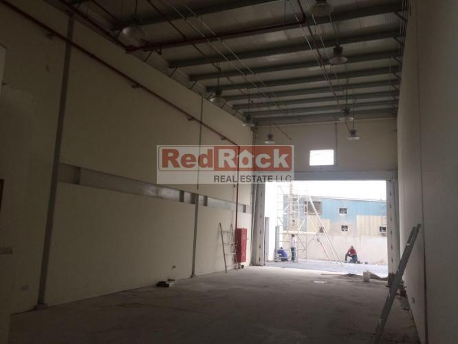 Commercial 1636 Sqft Warehouse with CCTV in Al Qusais