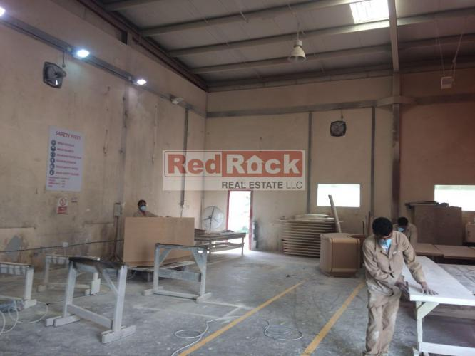 Industrial 62,000 Sqft Warehouse with 1200 KW Power in Al Quoz