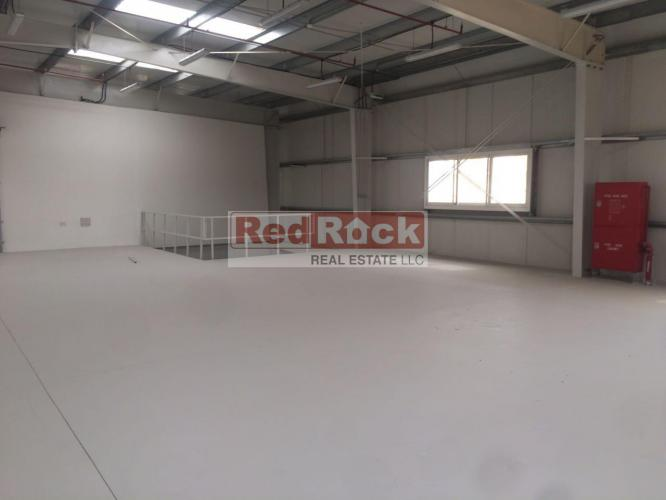 Brand New 4609 Sqft Warehouse with Mezzanine in Jebel Ali