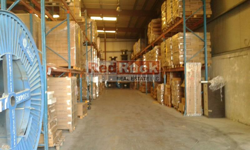 Suitable for Logistics 20,000 Sqft Warehouse with Office, WashRoom & Pantry in Al Qusais