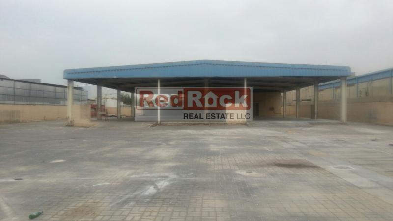 Al Quoz 24,150 Sqft Land with Shed Suitable for any Activity