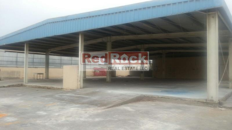 Al Quoz 24150 Sqft Land With Shed Suitable For Commercial Or Storage Activity