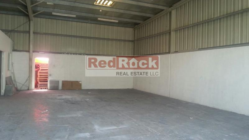 Tax Free 2100 Sqft Warehouse in Al Quoz 3 for Aed 120,000/Yr