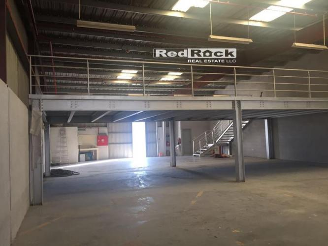 Brand New 8000 Sqft Warehouse with Mezzanine for Aed 320,000/Yr