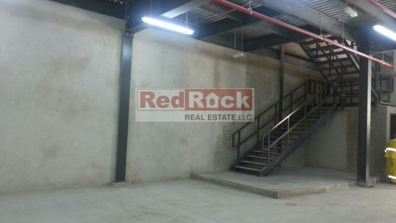 Industrial 5657 Sqft Warehouse with Mezzanine in Al Quoz