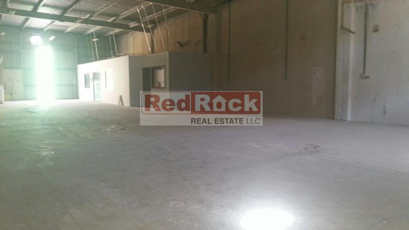 Commercial 3600 Sqft Warehouse With Office In Al Quoz Aed 180,000/Yr