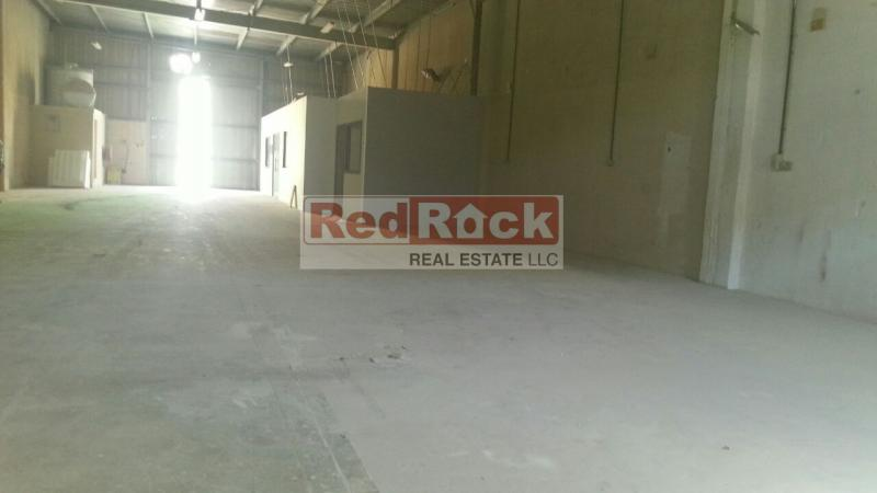 Clear Layout 3600 Sqft Warehouse with Office in Al Quoz