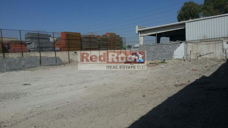 Great Location Independent 20000 Sqft Industrial Open Land In Al Quoz