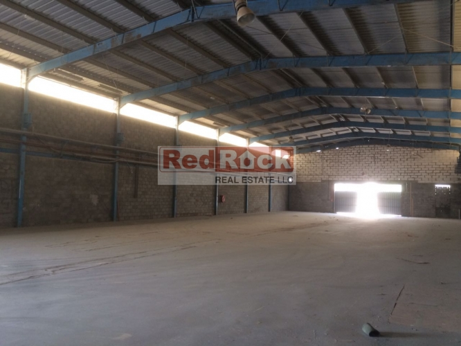Ideal for Logistics 15,000 Sqft Warehouse with 2 Entrances in Jebel Ali