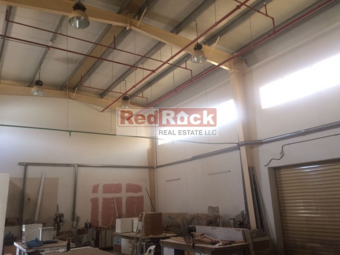 Jebel Ali 1800 Sqft Warehouse Ideal for Joinery Aed 85,000/Yr