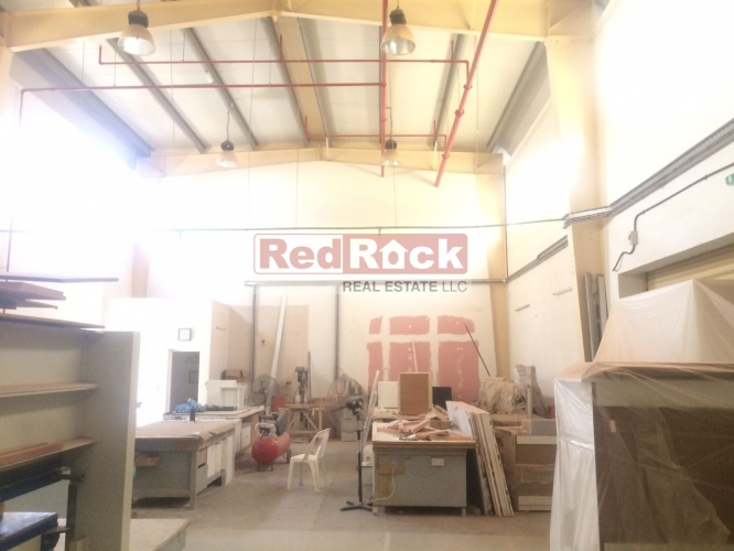 Ideal for Joinery 1800 Sqft Warehouse in Jebel Ali