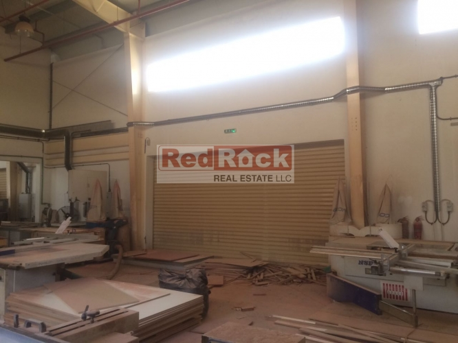 Perfect for Joinery 1846 Sqft Commercial Warehouse in Jebel Ali