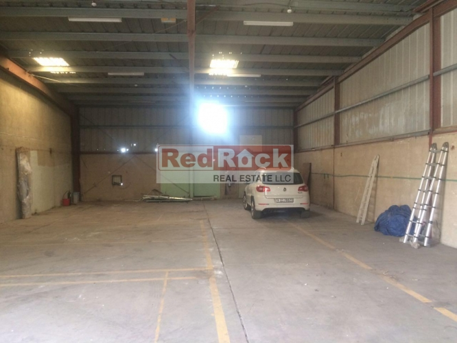Prime Location 4000 Sqft Commercial Warehouse in Al Qusais
