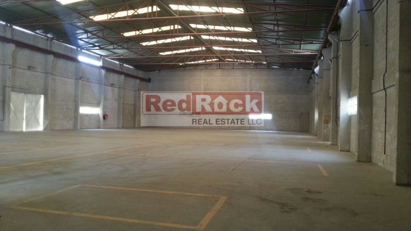 Independent 20,000 Sqft Warehouse in Prime Location of Al Quoz