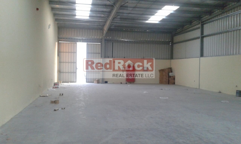 Brand New 2800 Sqft Warehouse in Ras Al Khor for Aed 140K/Yr