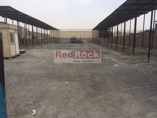 Tax Free 20,000 Sqft OpenLand in Ras Al Khor Ideal for Heavy Vehicles