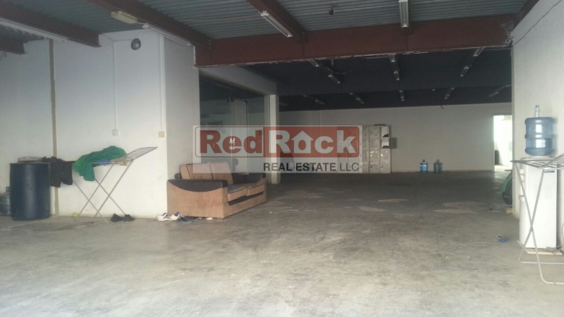 Commercial 2800 Sqft Warehouse cum Showroom in Al Quoz Aed 110,000/Yr