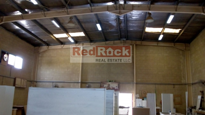 Good Location Al Quoz 3700 Sqft Warehouse with Office