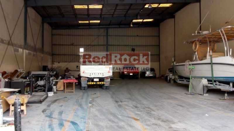 Al Quoz 6200 Sqft Warehouse with Good Height Suitable for Any Activity