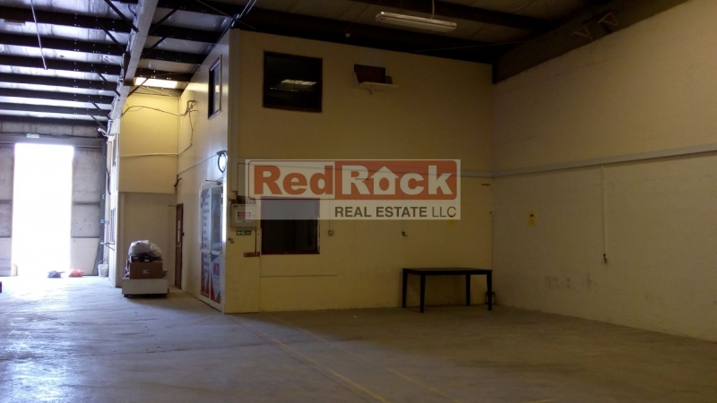 Economical 3600 Sqft Warehouse with Office in Al Quoz