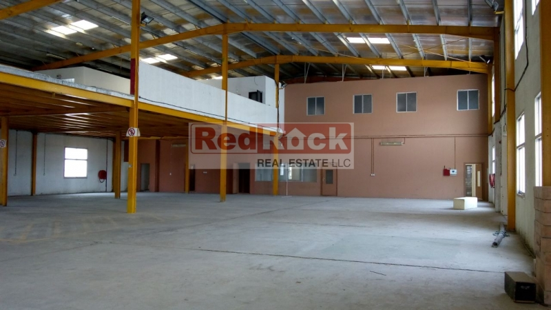 Independent 22,000 Sqft Warehouse with 119 KW Power in Al Quoz