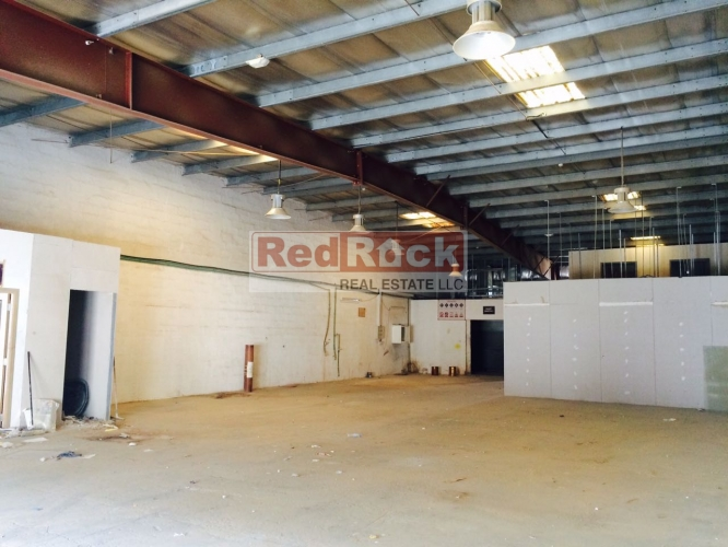 3800 Sqft Insulated Warehouse With Office In Ras Al Khor Aed 133,000/Yr