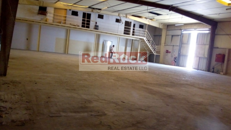 Location Location Near Al Quoz Mall Independent Plot 14195 Sqft Warehouse
