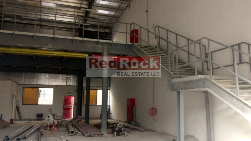 Brand New 3322 Sqft Warehouse with Mezzanine in Al Quoz for Aed 140,000/Yr