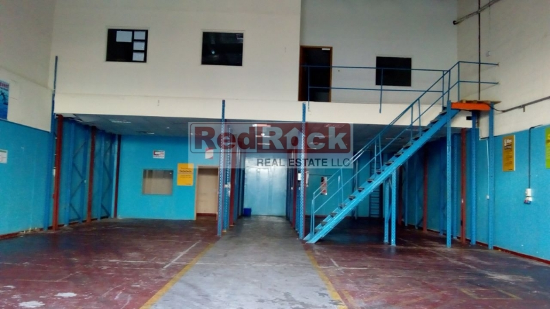 No Tax Aed 130,000/Yr for 3173 Sqft SZR Facing Warehouse