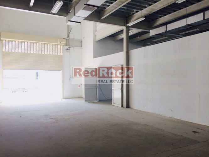 With 40KW Power 6587 Sqft Insulated Warehouse in Al Qusais