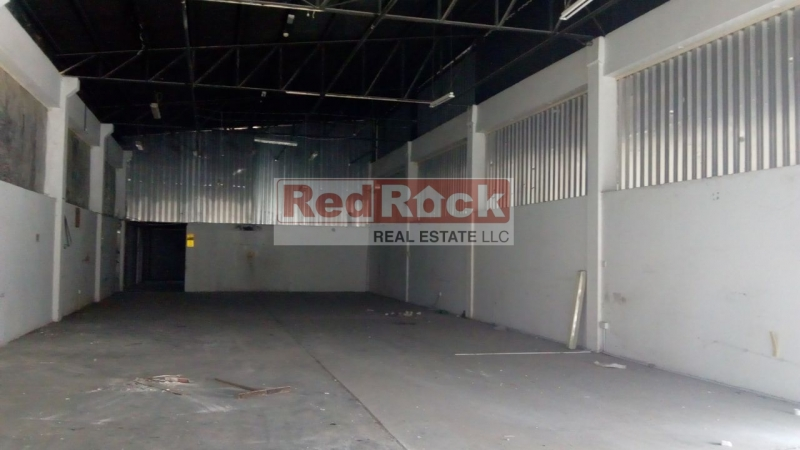 Al Quoz 4500 Sqft Industrial Warehouse for Aed 175K/Yr