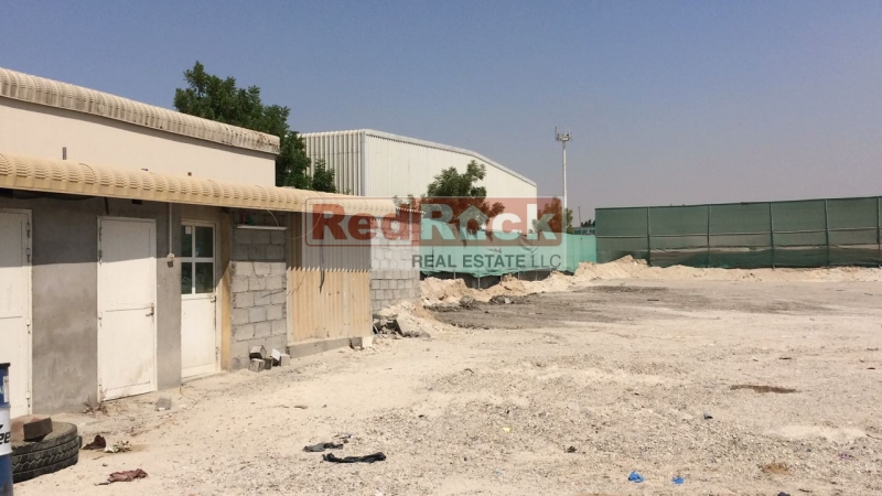 Commercial Tax Free 40,000 Sqft Land in Ras Al Khor for Aed 720,000/Yr