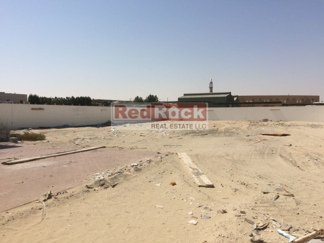 Commercial 10,000 Sqft Open Land in Al Warsan Ideal for Auto Storage