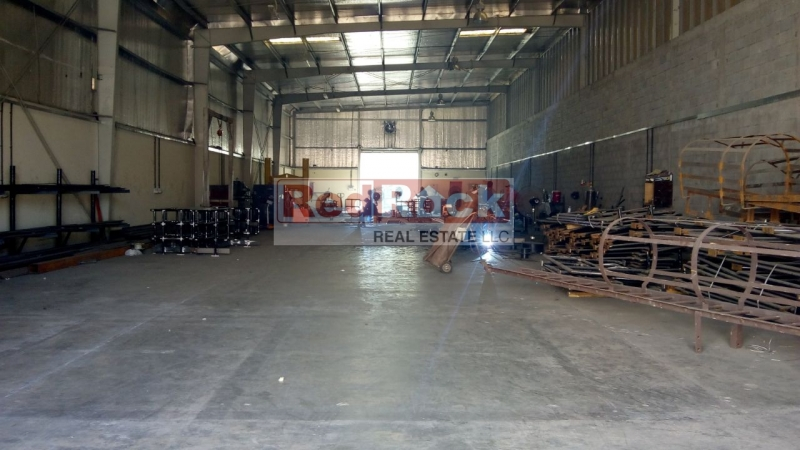 With 80 KW Power 7220 Sqft Industrial Warehouse Great Location in Al Quoz