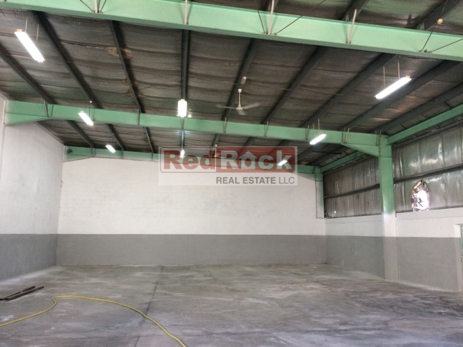 Insulated 3238 Sqft Warehouse with Office in Ras Al Khor