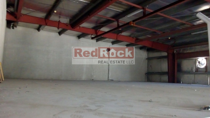 Rare to Get Tax Free 2267 Sqft SZR Facing Warehouse for Aed 100,000/Yr