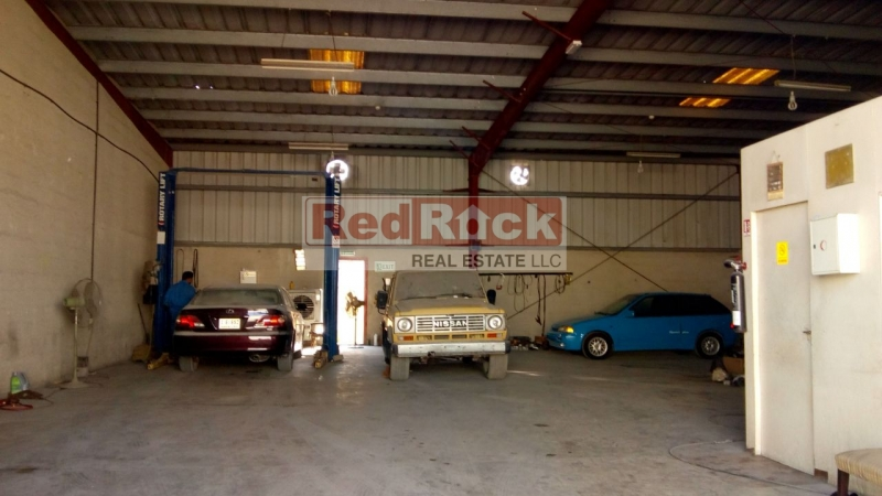 Ideal for Garage Front Facing 3000 Sqft Warehouse in Al Quoz
