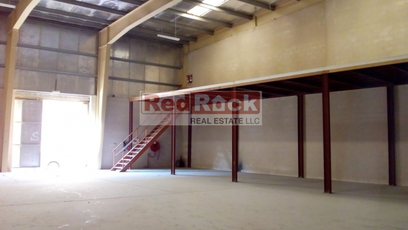 Commercial Insulated 3500 Sqft Warehouse with Mezzanine in DIP