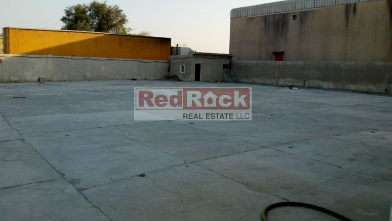 Extremely Good Location in Al Quoz 22,000 Sqft Land with Office