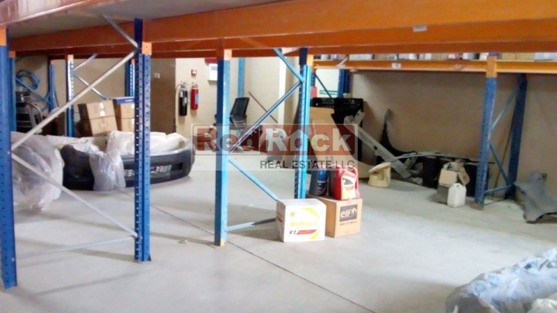 Fitted Office and Racking System 1800 Sqft Warehouse in Al Quoz