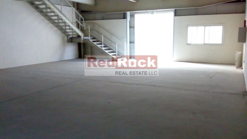 Affordable Brand New 3050 Sqft Warehouse with Mezzanine in Jebel Ali