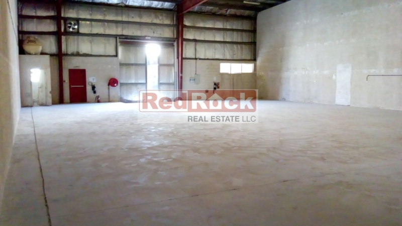 20 KW Power 4575 Sqft Warehouse in DIP for Aed 160K/Yr